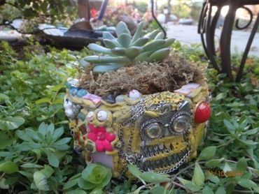 mosaic planters for sale - Google Search