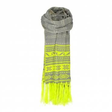 FAIRISLE PRINT SCARF - Ally Fashion