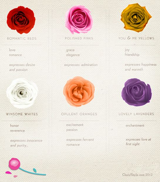 Rose Colors And Their Meaning Rose Color Meanings Color Meanings Flower Quotes