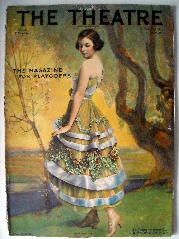 Irene Castle--looks like the Lucile dress!