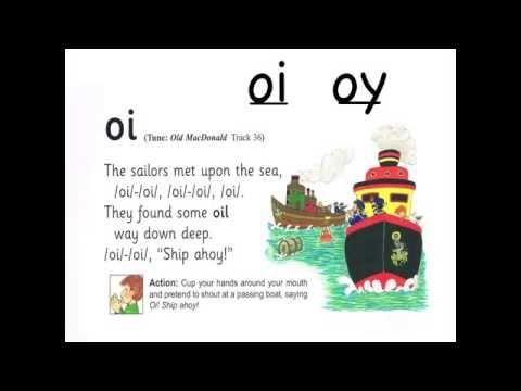 Jolly Phonics Oi Song Jolly Phonics Phonics Song Teaching Phonics