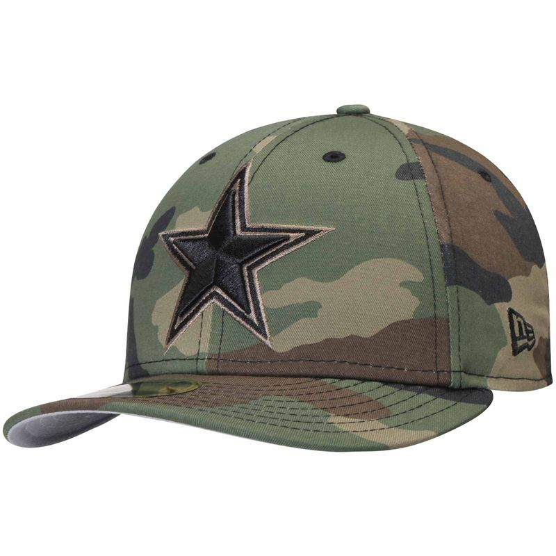 a5c5fdbd Dallas Cowboys New Era Star Logo Low Profile 59FIFTY Fitted Hat ...