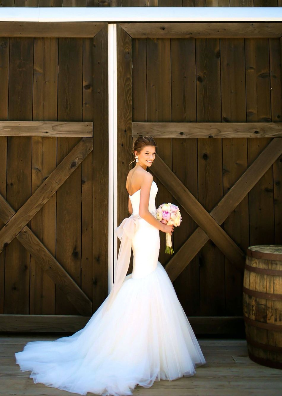 Mark Zunino Mermaid Dress from Kleinfeld Bridal | Dream Wedding ...