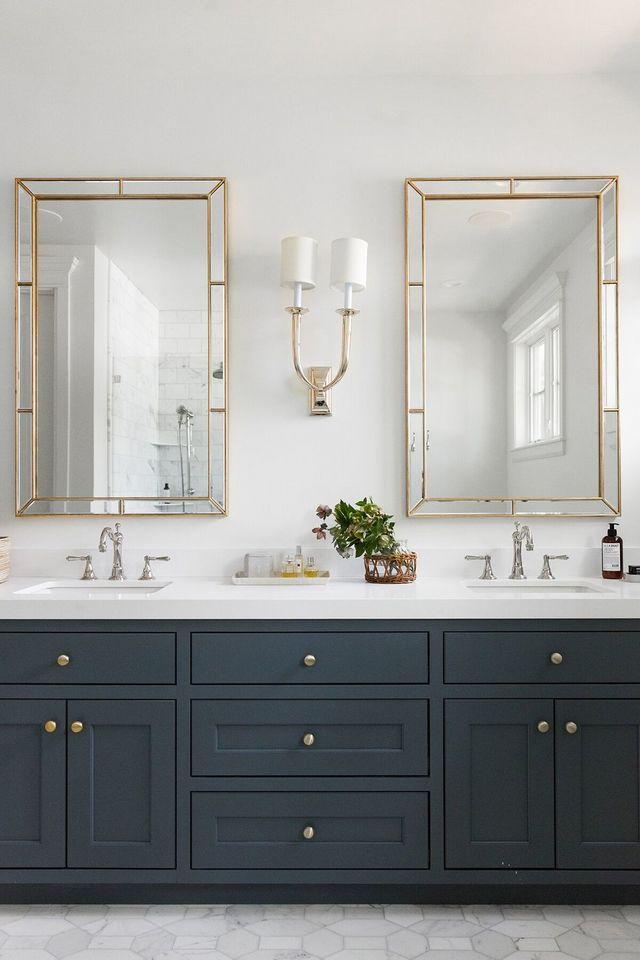 Light + Mirror Combinations For Your Bathroom (STUDIO MCGEE)