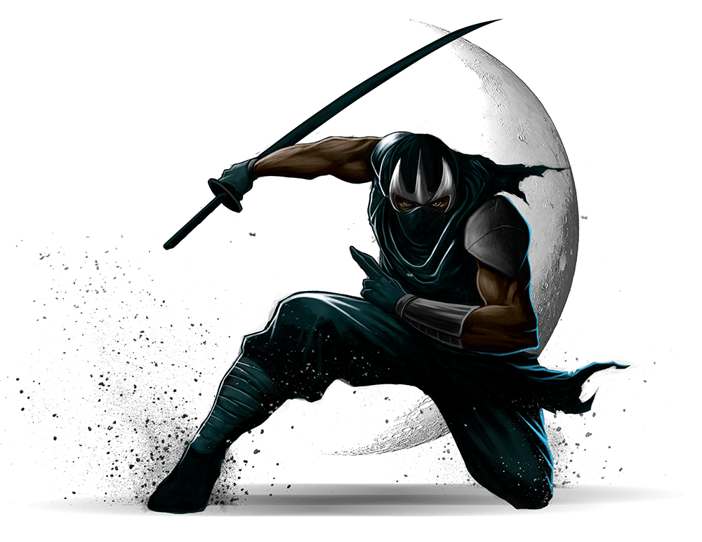 Ninja Character Illustration by 99designs Ninja