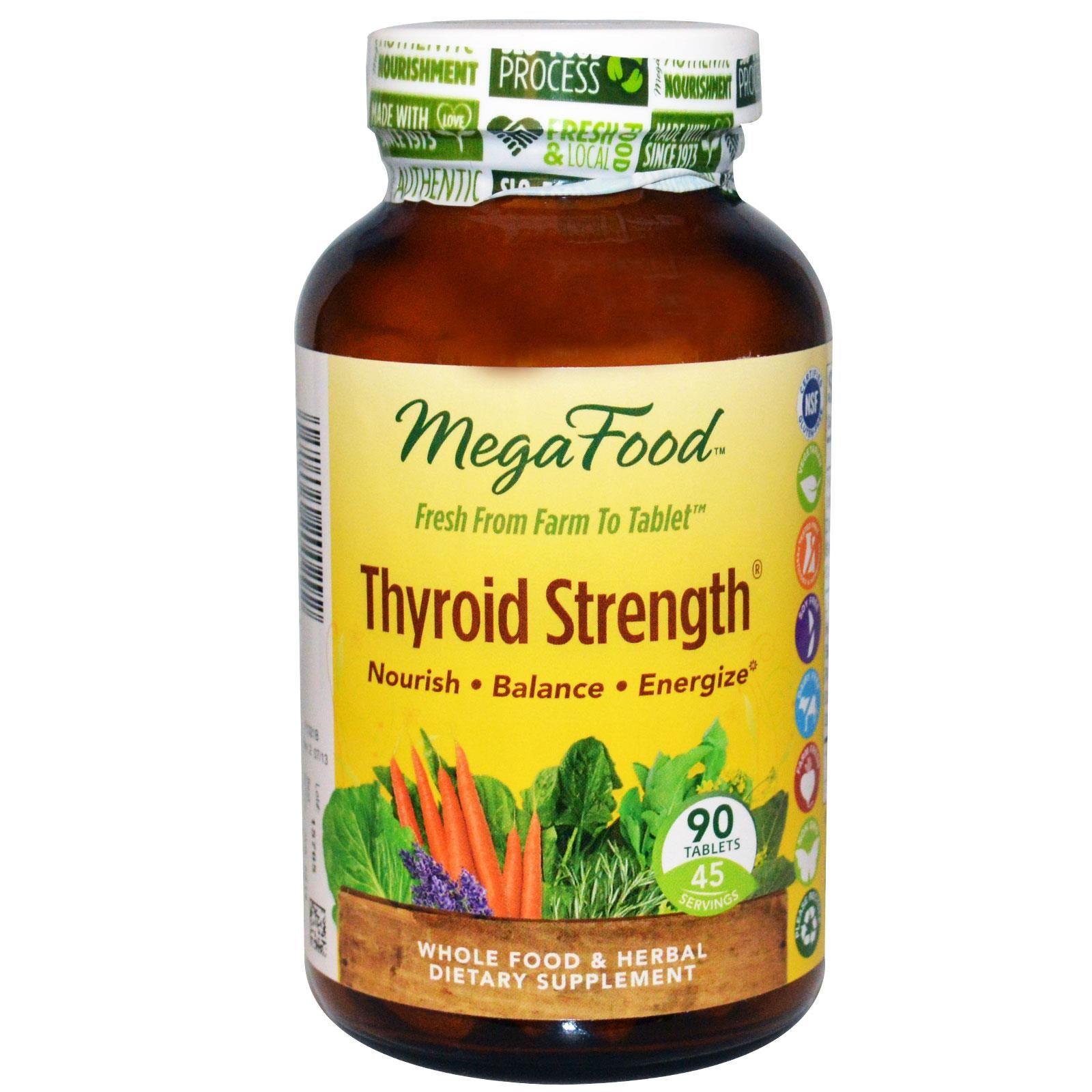 Customer reviews megafood thyroid strength