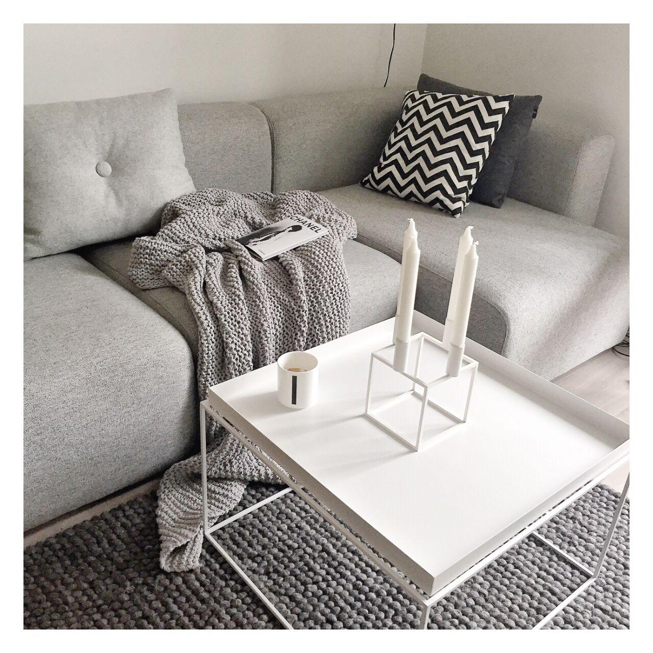 Interior hay design tray table pillow sofa irinazarkovic bylassen kubus magsofa mags