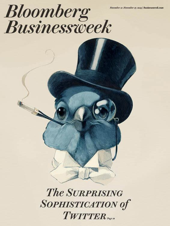 Bloomberg Businessweek, November 21, 2013. Design director: Richard Turley. Illustrator: David Parkins.