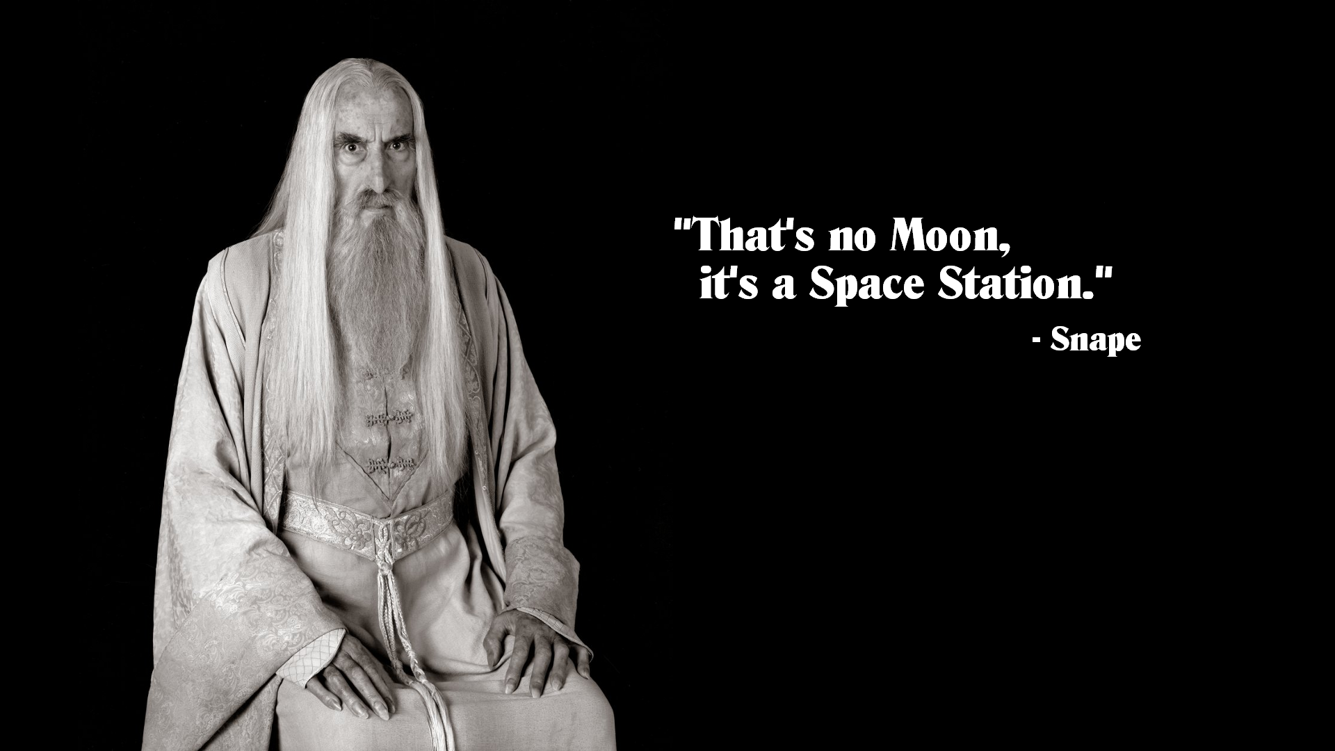 Quotes Harry Potter Saruman Star Wars Lord Rings Black Funny Movies Wallpapers Backgrounds