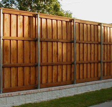 Privacy Fences Fort Worth Tx Cedar Wood Board On Board