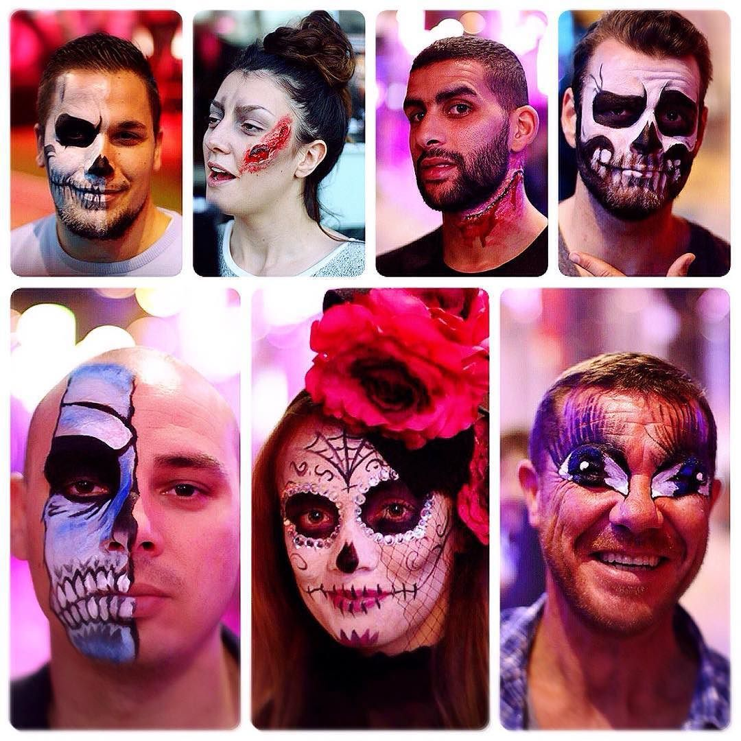 PortHercule About last night #Halloween Party - Allure Makeup at ...