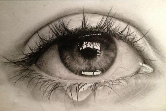 Dibujar-ojos-llororos …