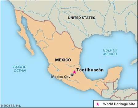 Teotihuacan Mexico Map Teotihuacán | Native Americans | Mexico city map, Teotihuacan