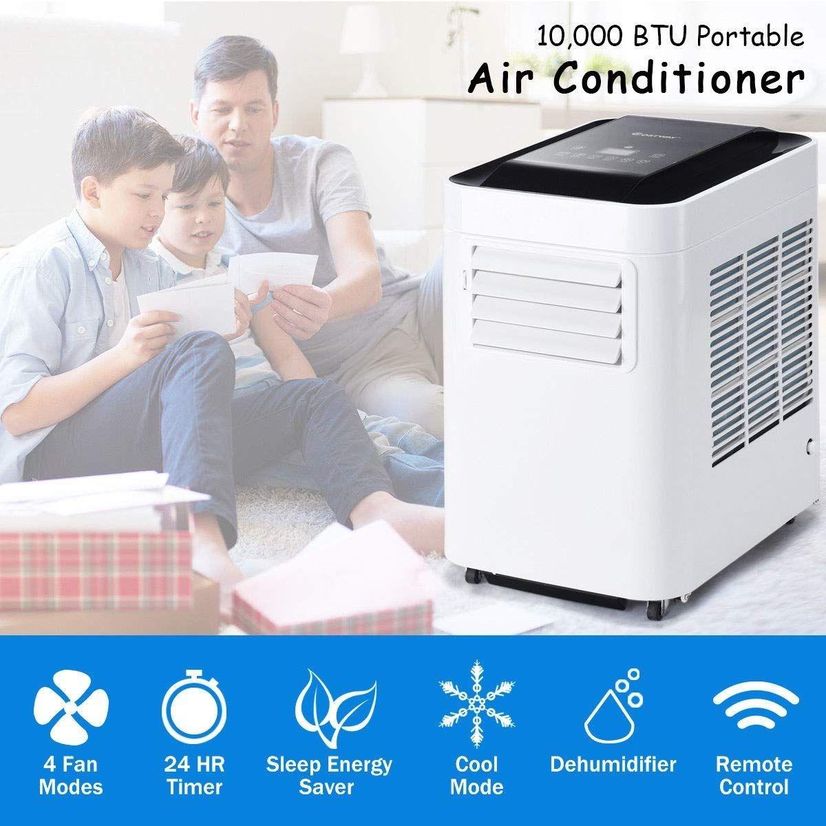 Waterjoy 10000 Btu 3in1 Portable Air Conditioner Dehumidifier And
