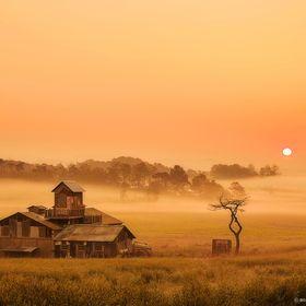 Photo Sunrise at the farm