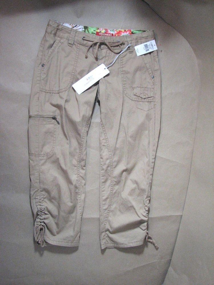 Vintage Union Bay Capri Pants