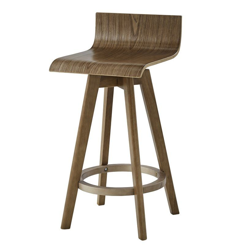 Dery Swivel Bar Counter Stool Mid