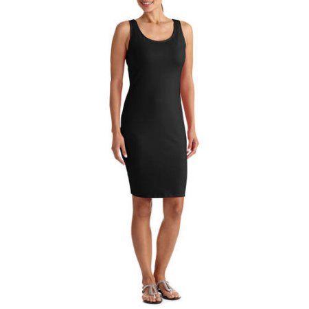 George Women's Bodycon Dress, Size: Large, Black