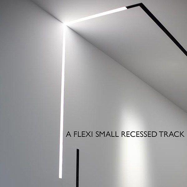 Illuminazione A Binario In Alluminio A Incasso The Running Magnet
