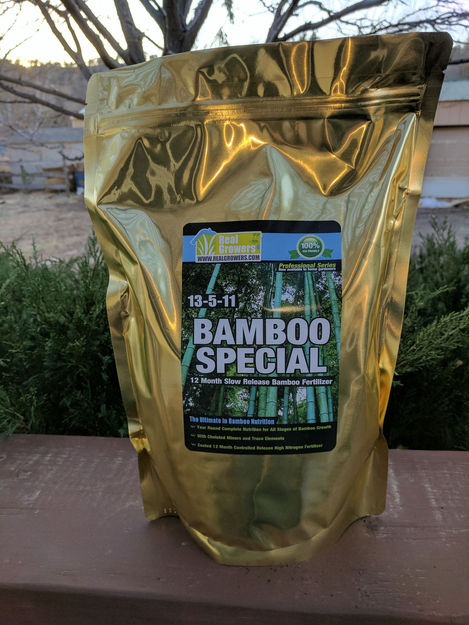 Bamboo special 13511 high nitrogen slow release