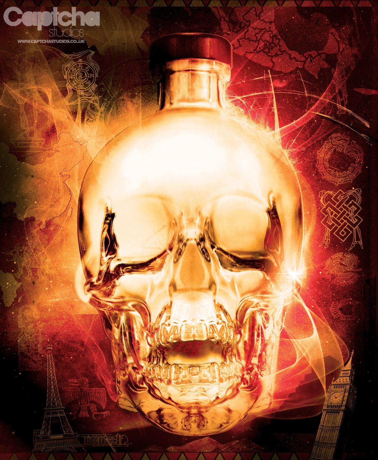 Crystal Head Vodka - Entry 1 - Based on the mythology of the Crystal Skull