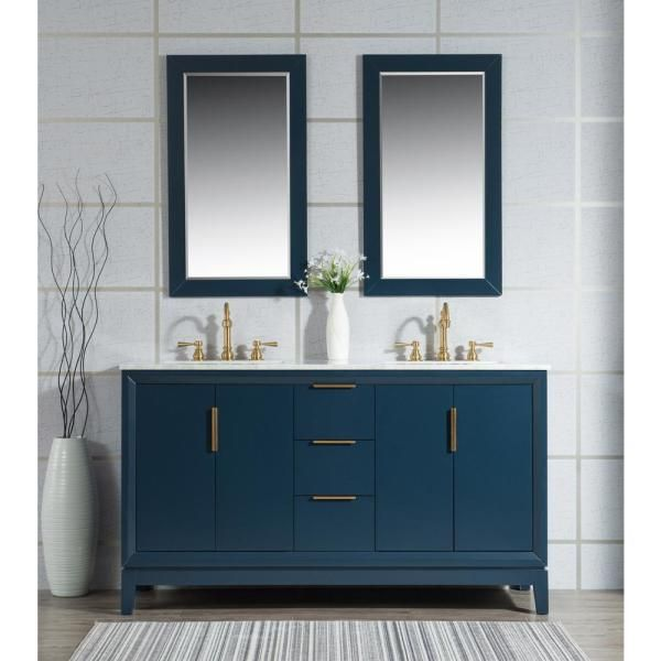 Water Creation Elizabeth 60 in. Monarch Blue With