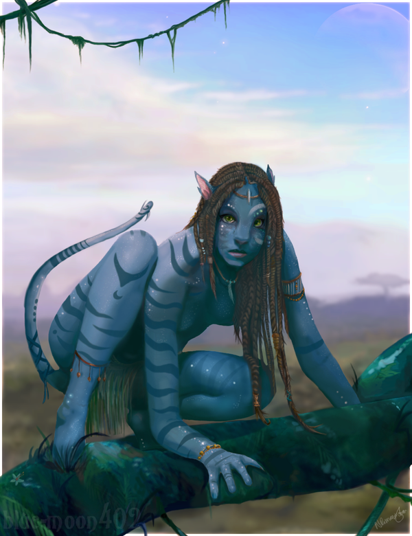 From The Awesome Avatar Image Archives By Blue Moon
