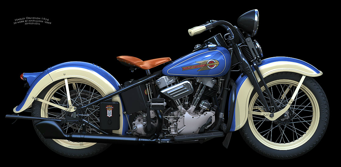 1936 Harley Davidson El Early Model