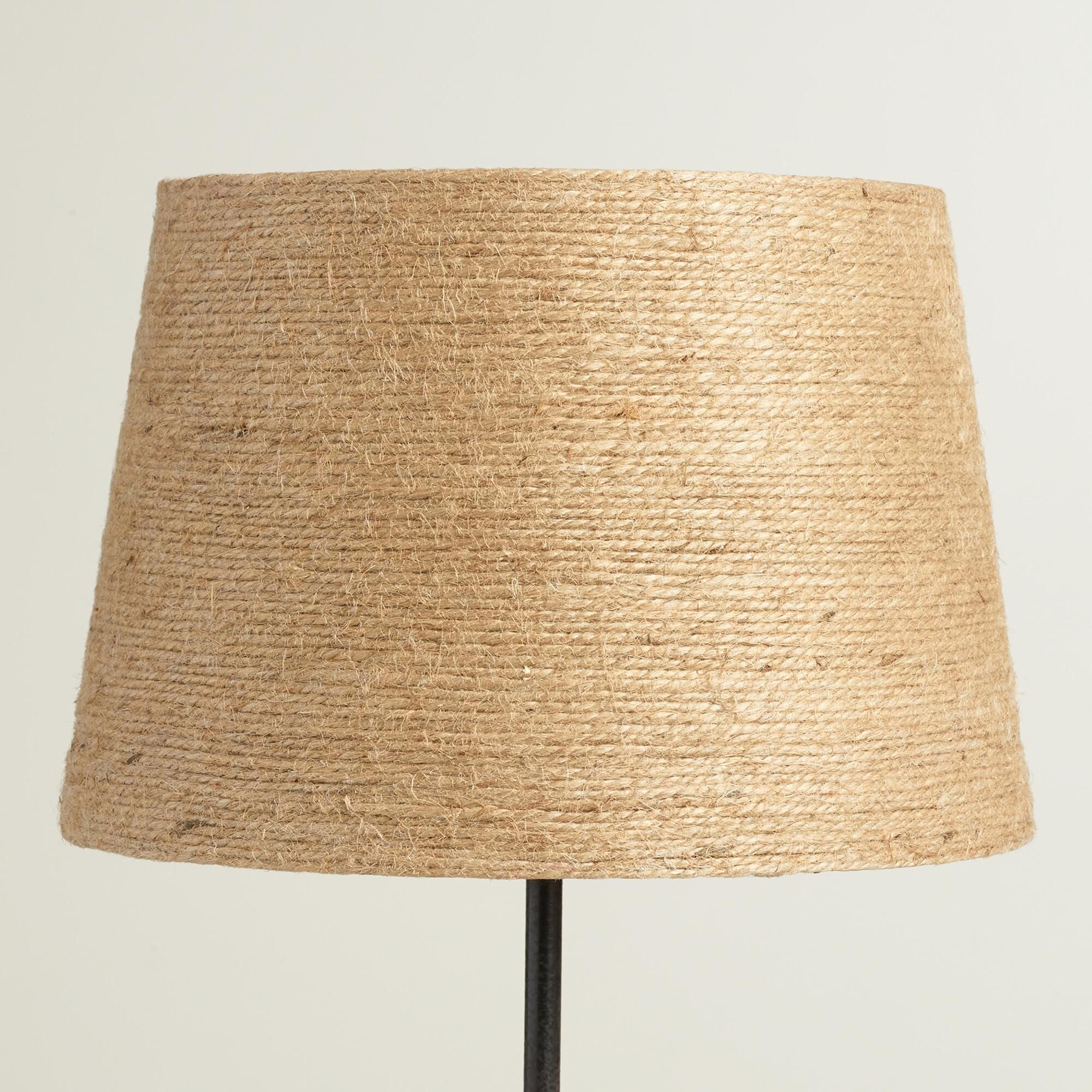 Twine Wrapped Accent Lamp Shade Lamp Shade Lamp Accent Lamp