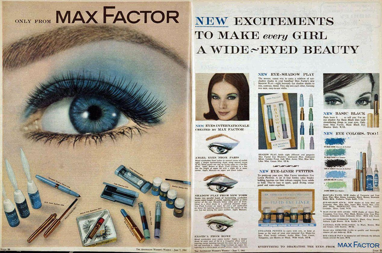 Max factor hair and makeup artist handbook vintage