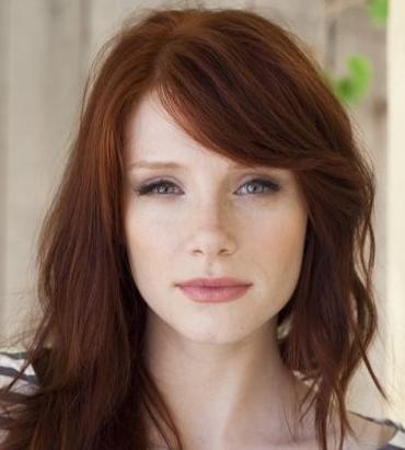roux foncé Coupe de cheveux tendance, Cheveux rouge