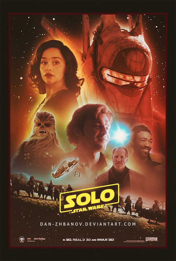 Solo: A Star Wars Story (2018) [600 x 889] | Movie Poster | Pinterest