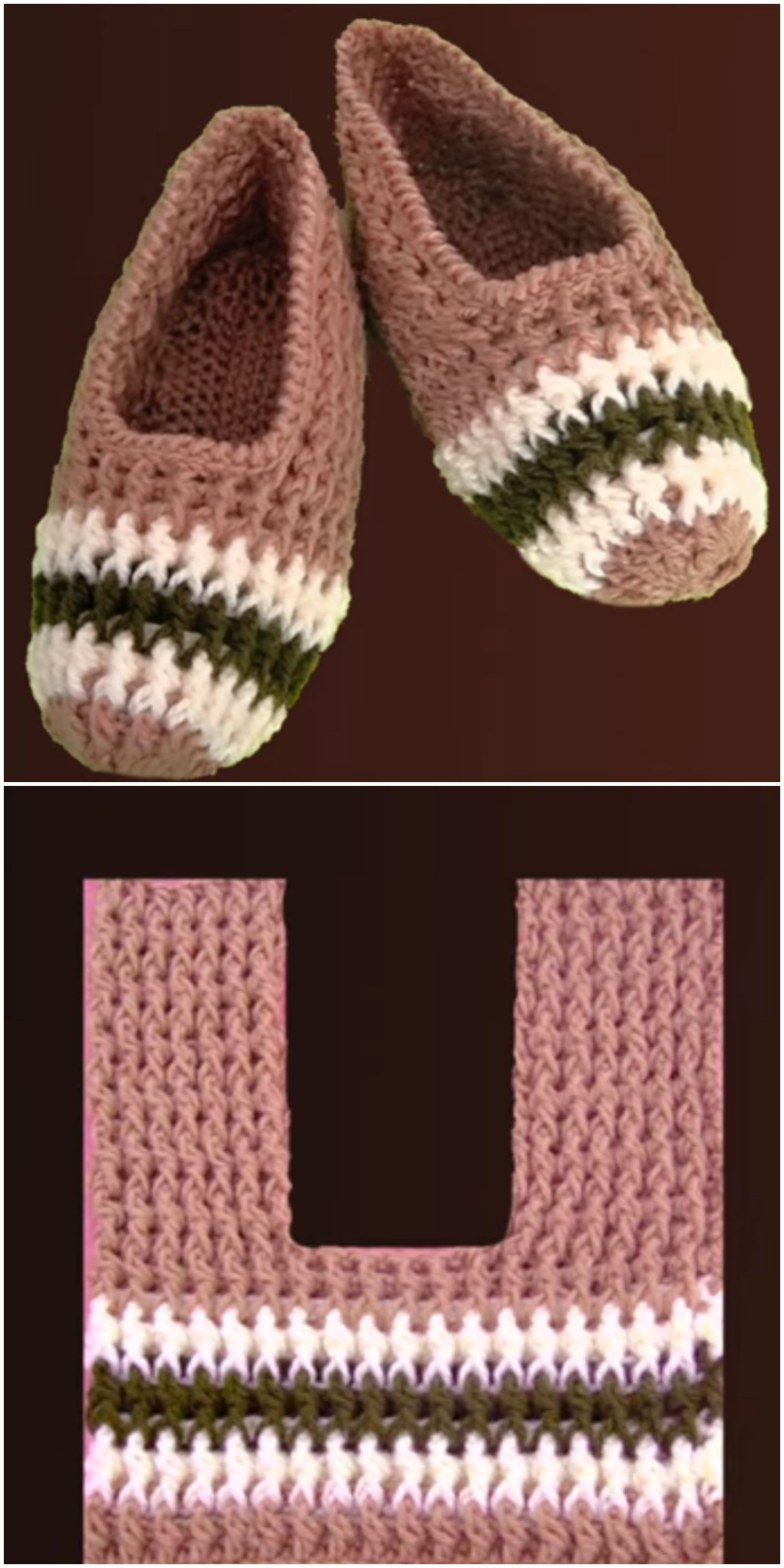 Photo of Crochet Elastic Stitch Slippers For Adults – Crochet Ideas