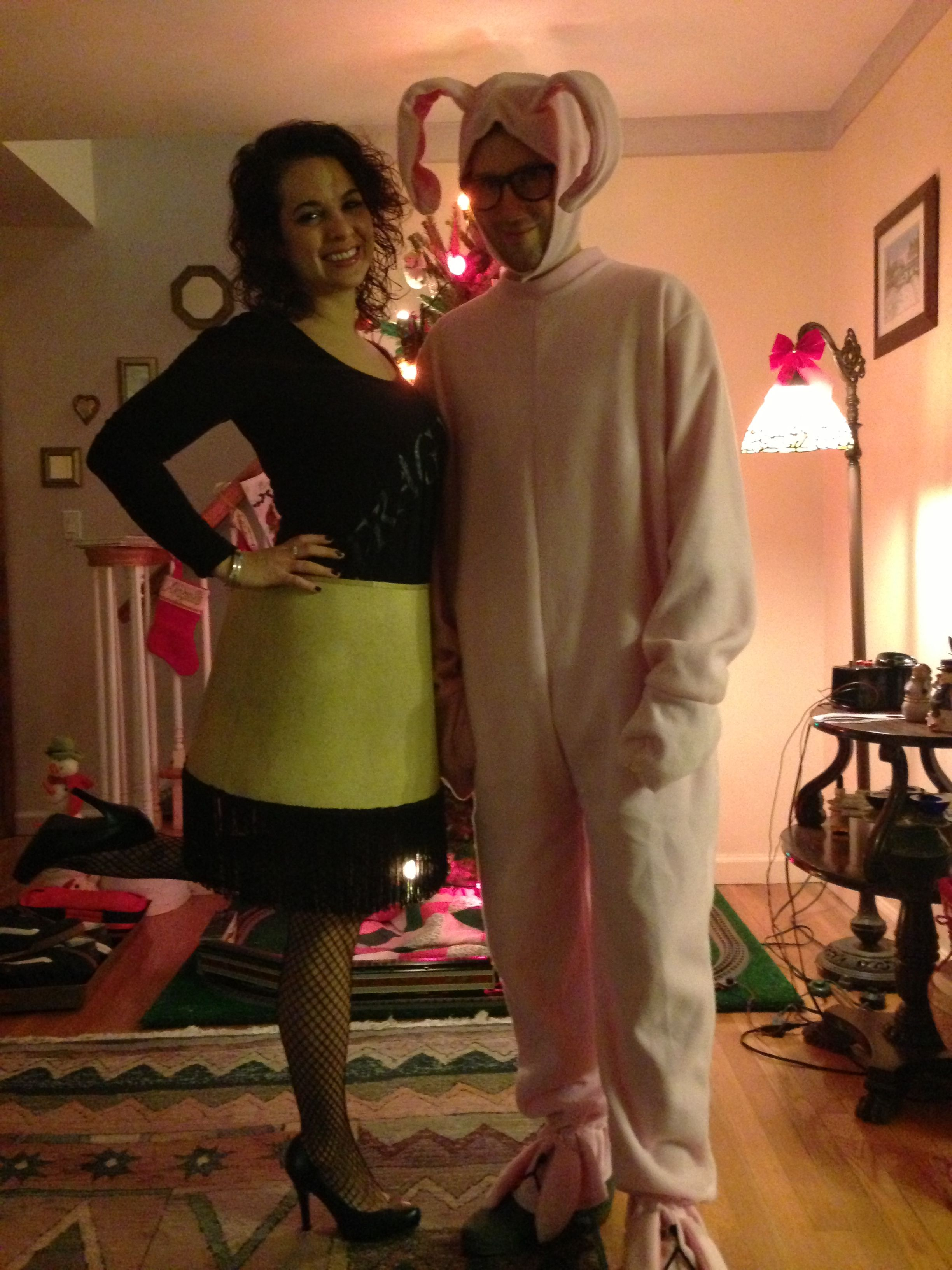 my DIY Leg Lamp costume from A Christmas Story!! The lamp