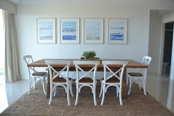 Nautical Dining Rooms In Wonderful Design : Charming Nautical Dining Room  Design With Sea View Pictures