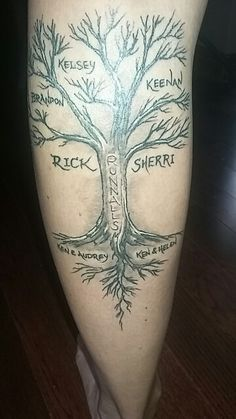 Family Tree Tattoo Tree Tattoo Men Family Tattoos