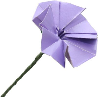 Origami flower stem origami pinterest origami flower and craft origami flower stem mightylinksfo