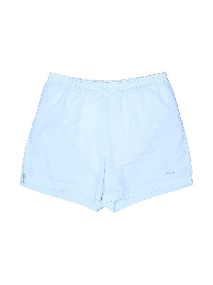 Nike Athletic Shorts: Size 4.00 Light Blue Women's Activewear - $18.99 - Pro... - #lightblueshorts