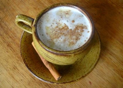 spiced cocoa chai - seems like it would need milk instead of water, but play with the idea . . .