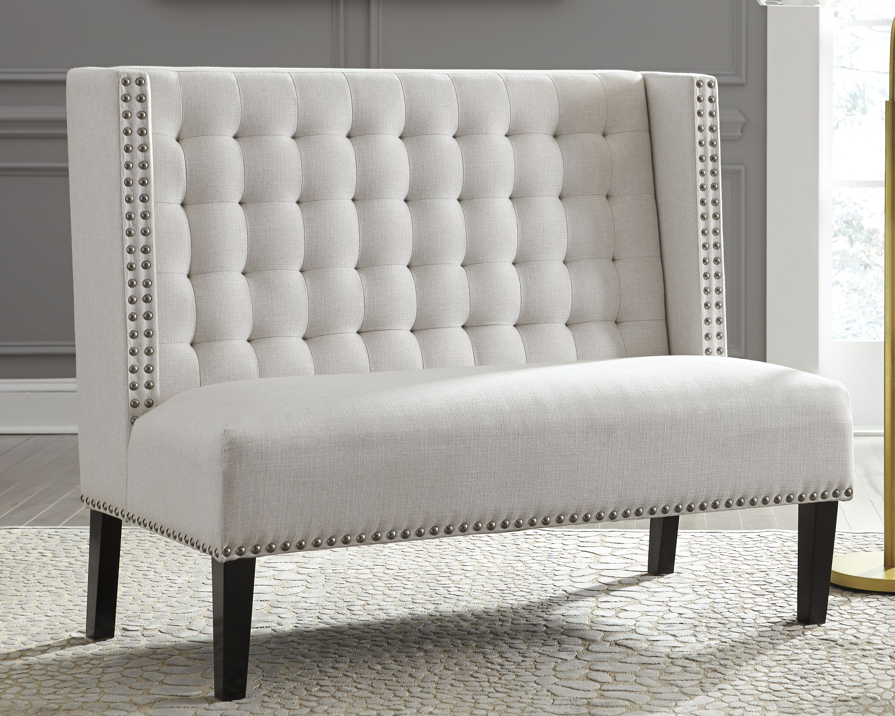 Beauland Accent Bench, Ivory | Furniture, Bedroom furniture ...