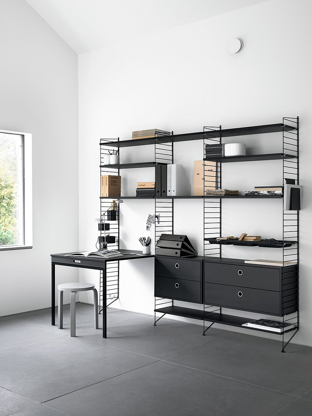 Photo of String System – a timeless and limitless shelving classic | …