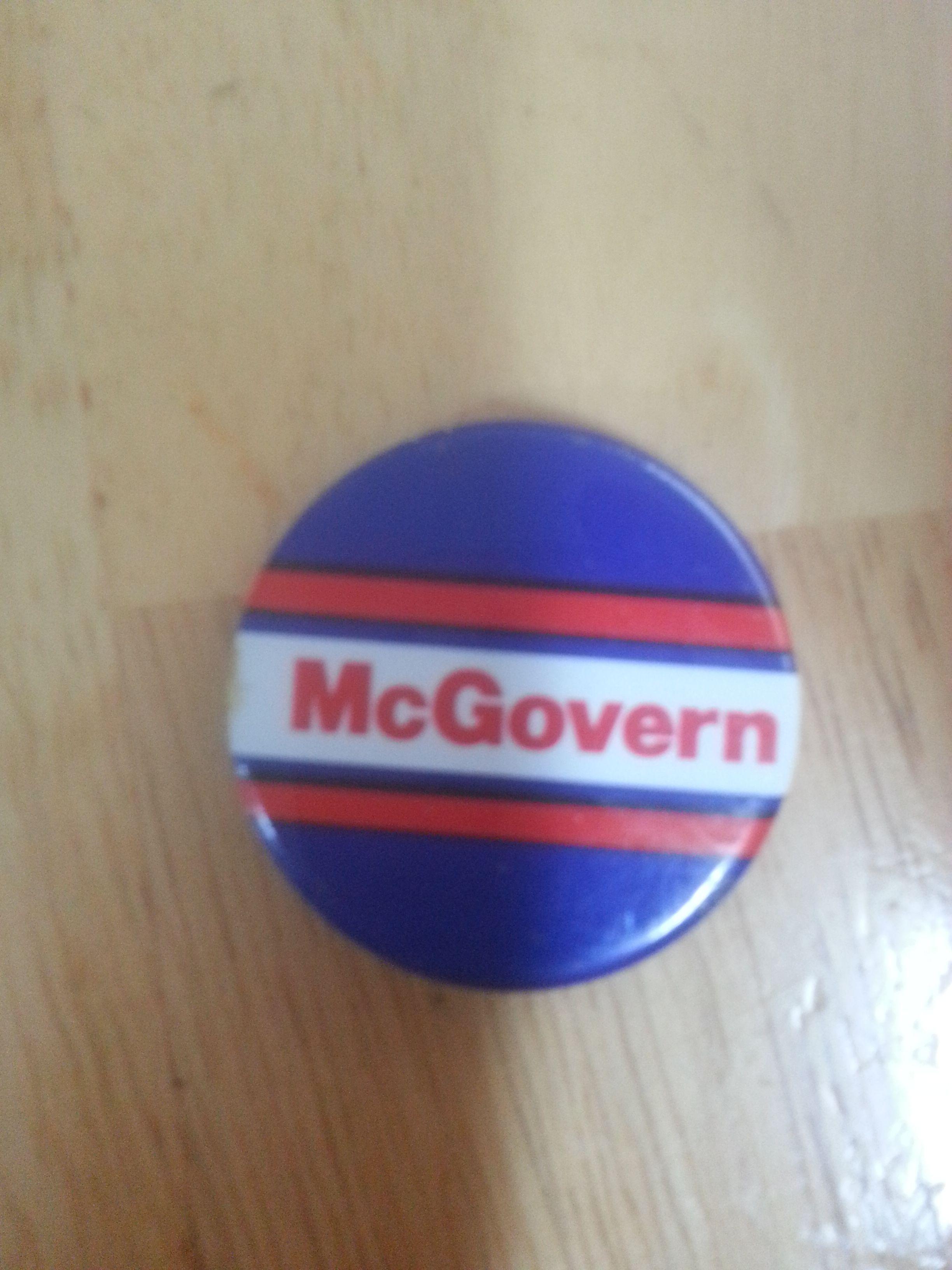 McGovern button Mcgovern, Tech logos, School logos