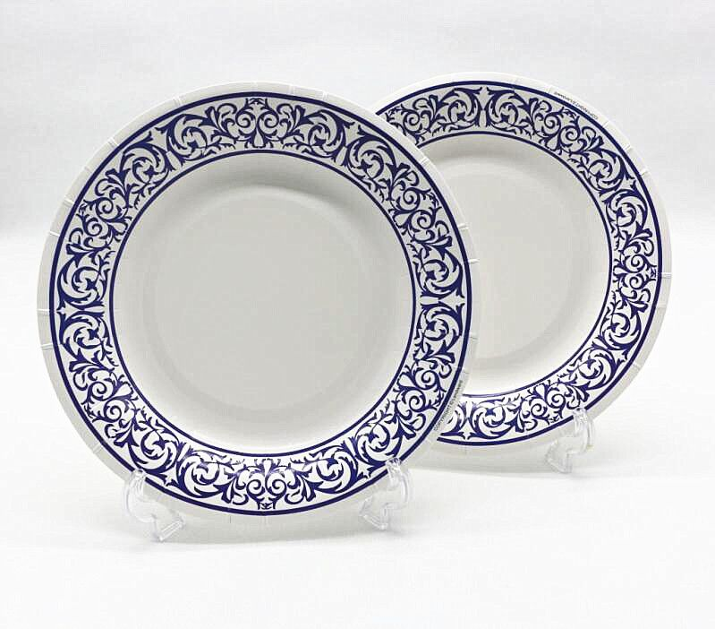 Cheap Plate For Birthdays Buy Quality Plates For Wedding Directly From China Plate White Suppliers Free Shipping 100pcs 8 Blue Party Tableware Tableware Paper Plates