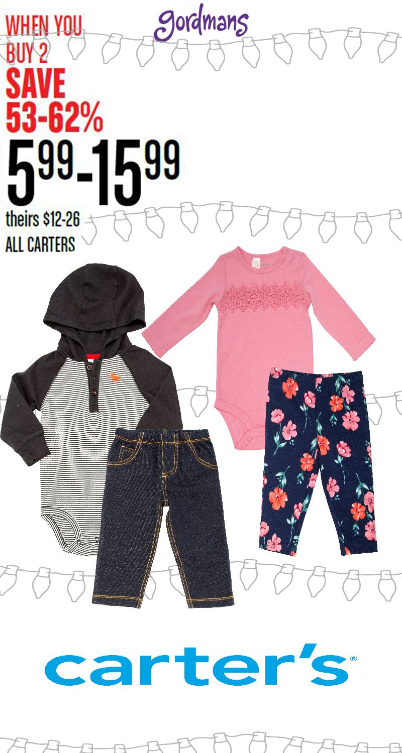 Carters Baby Clothes Are A Great Buy Check Out The Cutest Kid Apparel In Our Black Friday Ad Online Now Carters Baby Clothes Show Me The Money Kids Outfits