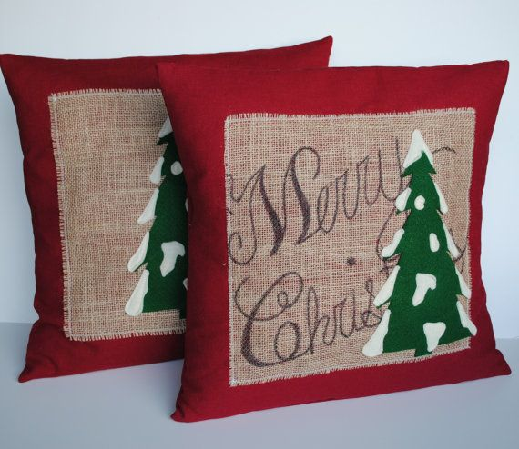 two merry christmas tree pillow covers 20x20 holiday pillow decorative pillow cushion christmas decoration christmas pillow