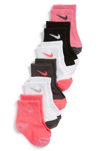 Nike Socks 6 Pack Baby Walker Toddler Kids Baby Girl Nike