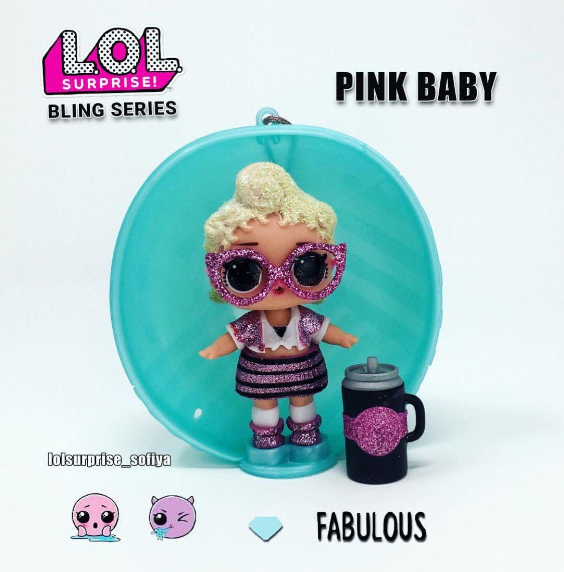 3aa6420974 Pink Baby | Bling Series | LOL Surprise Dolls | lol