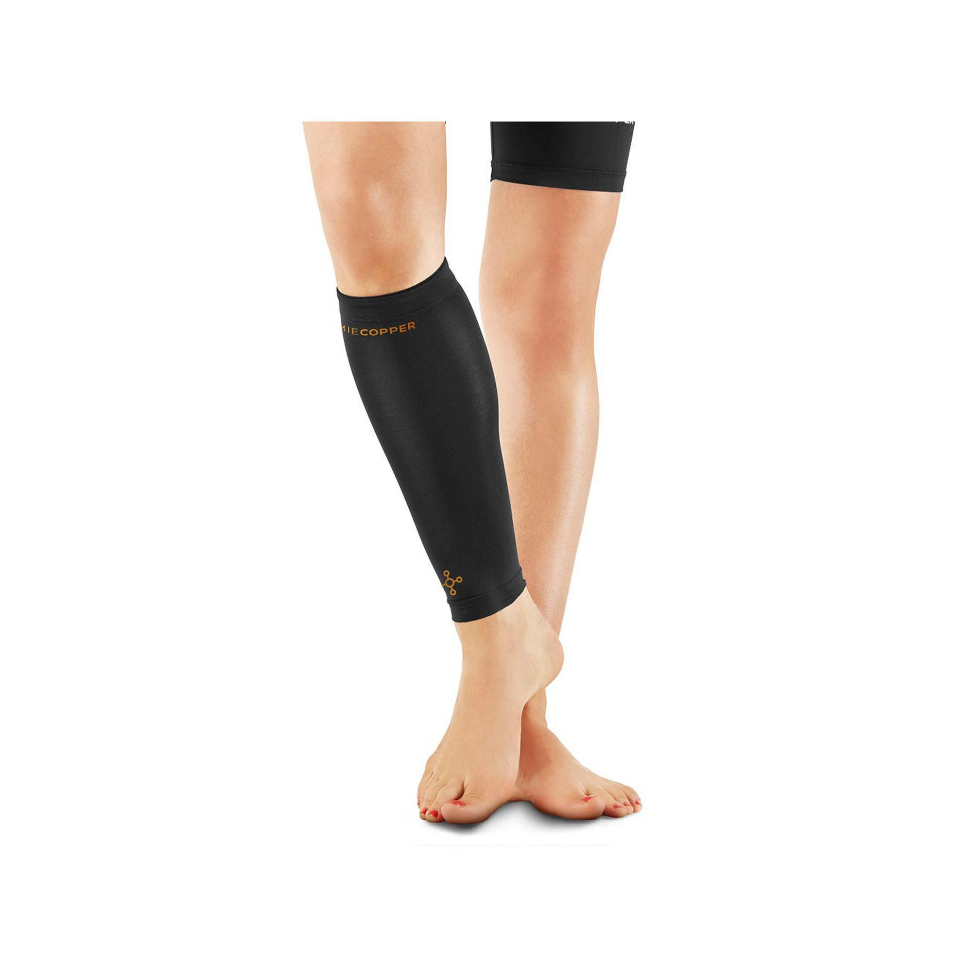 ac4356332c Women's Tommie Copper Recovery Compression Calf Sleeve, Black ...