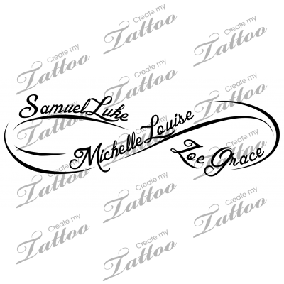 Infinity Infinity Names 69692 Tattoos With Kids Names Infinity Tattoos Kid Name Tattoo