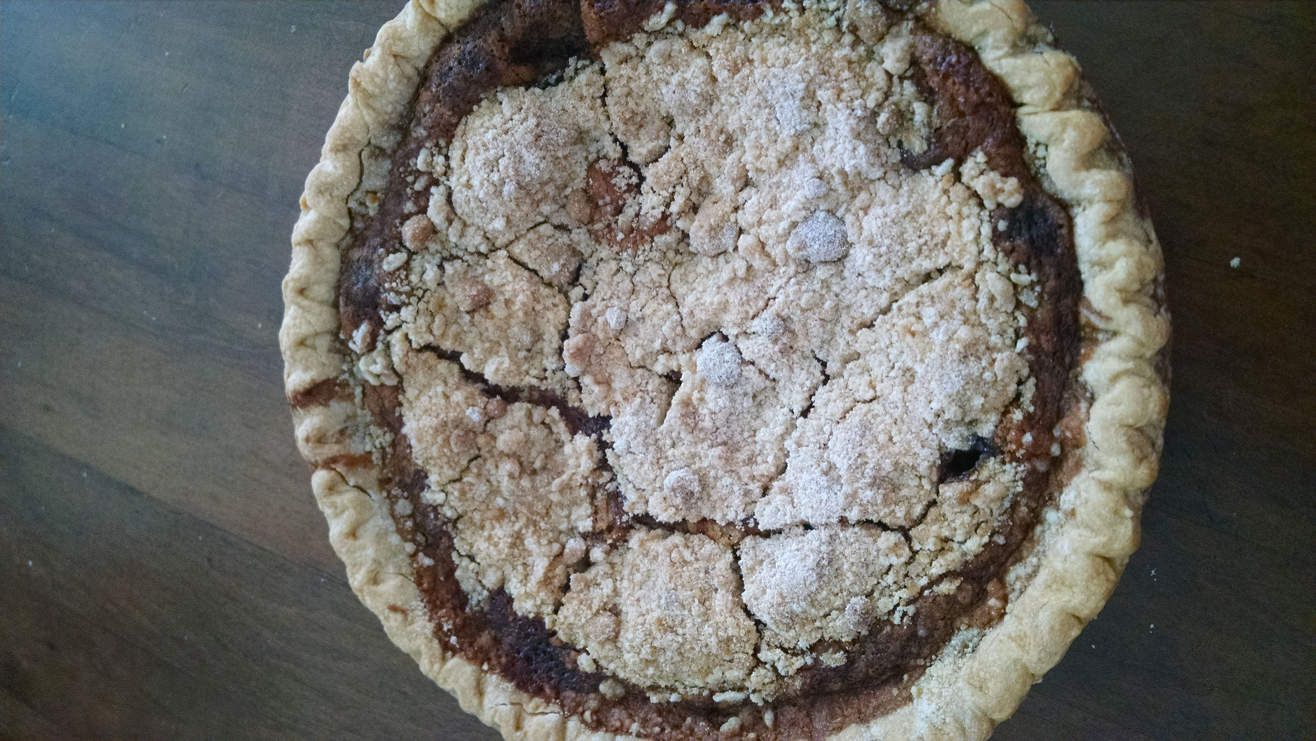 Shoofly Pie:   A Favorite Recipe from my Brother-in-Law